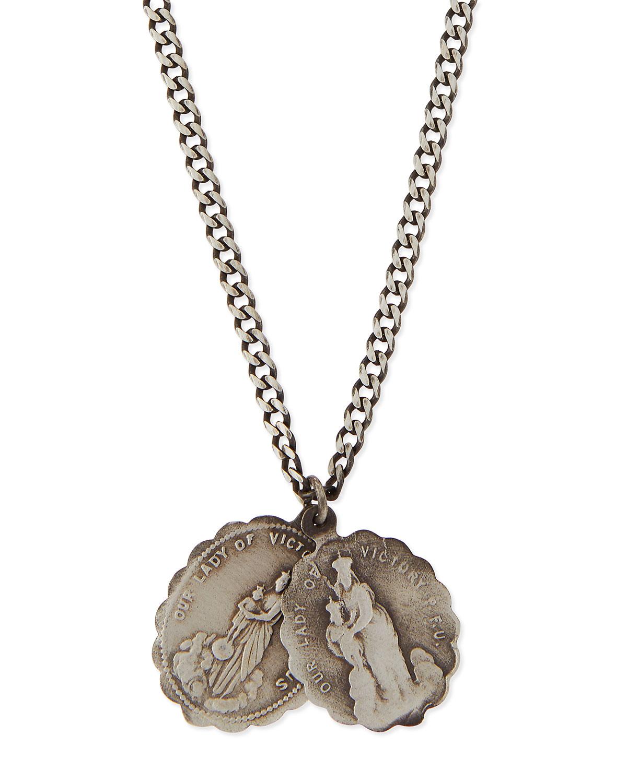 248450219c693 Miansai Saints Sterling Silver Necklace