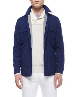 Windstorm Stretch Shirt, Blue