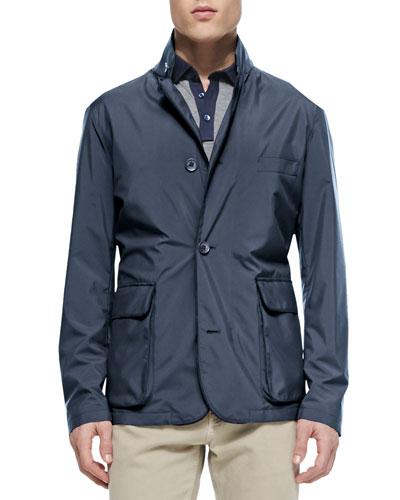 Roadster Blazer Jacket, Blue