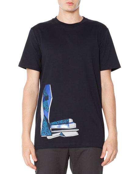 Buy the Lanvin High Collar Tee in White from leading mens fashion retailer END. - only $ Fast shipping on all latest Lanvin products.