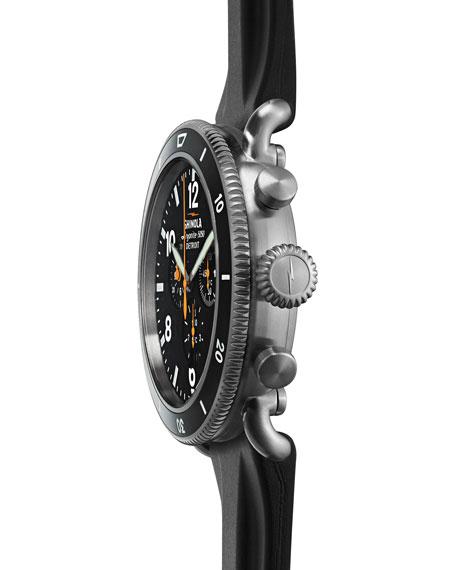 Shinola Men's 48mm Limited Edition Black Blizzard Watch