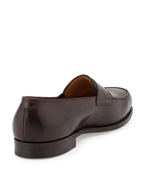 Lopez Penny Loafer, Dark Brown