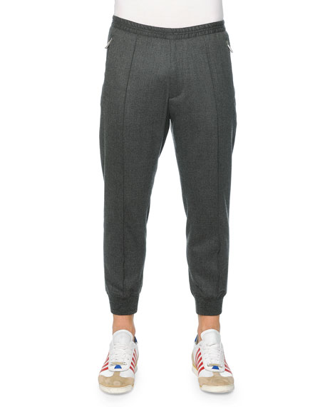 Dsquared2 Drawstring Jogger Pants, Gray
