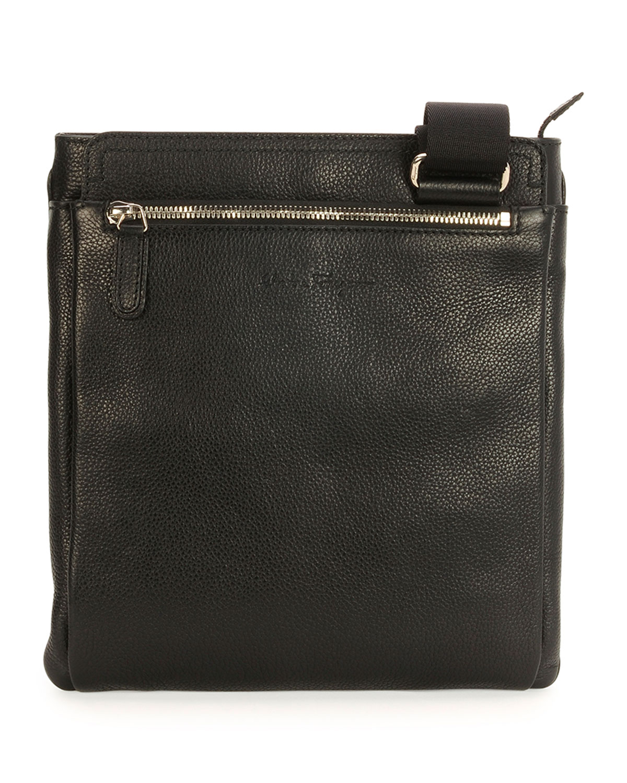 Salvatore Ferragamo Men s Leather Messenger Bag e9492b2b883a2