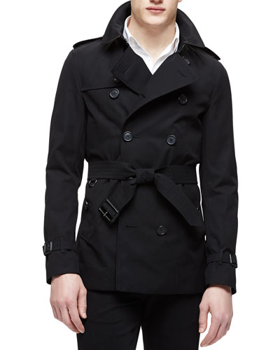 Short Trenchcoat, Black