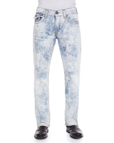 Ricky Super T Mineral Reef Denim Jeans, Light Blue