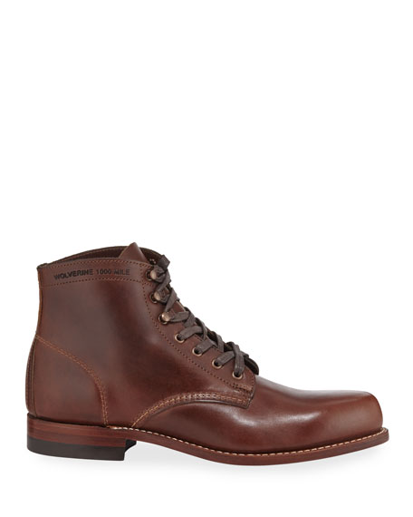 Cordovan 1000 Mile Boots, Brown