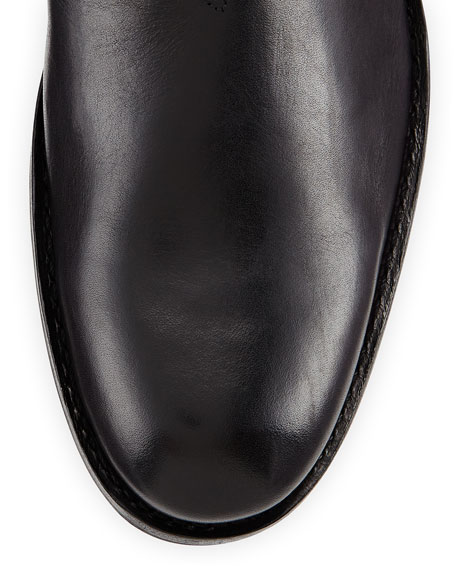 Montague 1000 Mile Leather Boot, Black