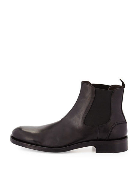 Montague 1000 Mile Leather Boot, Black