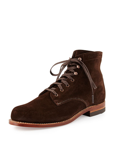 1000 Mile Suede Boot, Brown