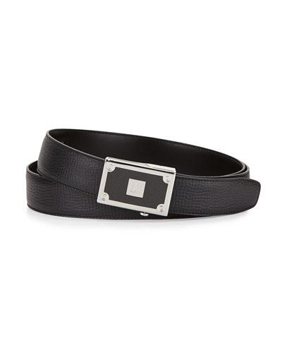 Carbon Fiber Leather Belt