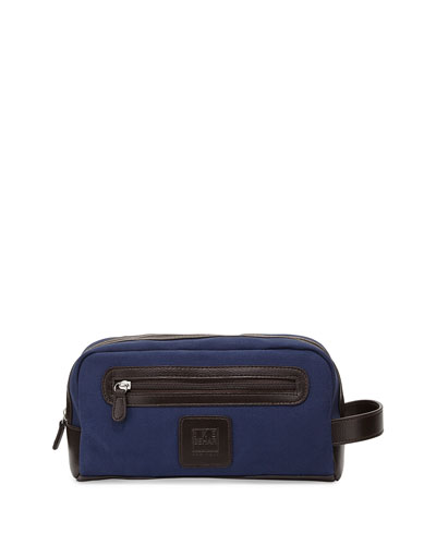 Canvas Travel Kit, Navy