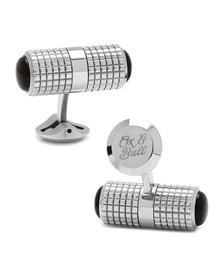 Cufflinks Inc. Onyx Duo Screwdriver Cuff Links