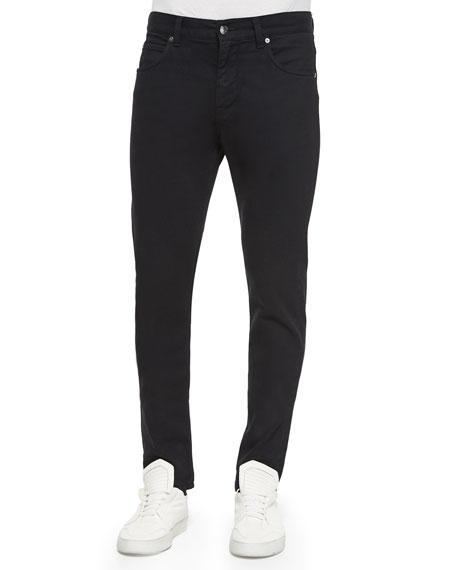 Helmut Lang Basic Wash Skinny Denim Jeans, Coal