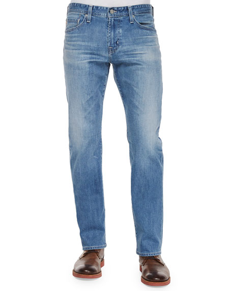 AG Adriano Goldschmied Graduate 15-Year Denim Jeans, Indigo