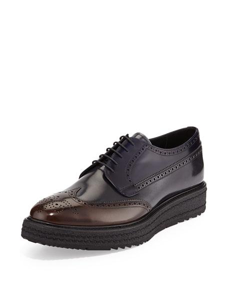 Prada Rubber sole Oxford shoes Y3p4D