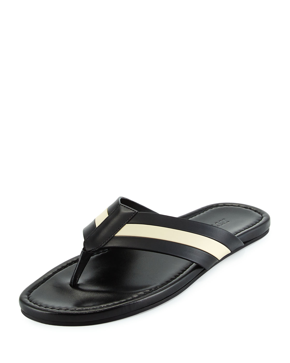 discount countdown package Bally Leather Thong Sandals outlet exclusive LVCRGq