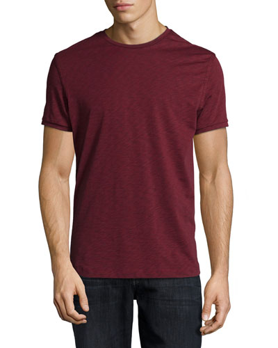 Dekker Short-Sleeve Crewneck Tee, Red