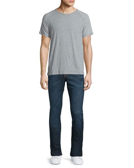 L'Homme Sierra Skinny Denim Jeans, Dark Blue