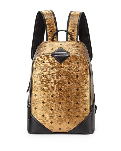 Duke Visetos Backpack, Gold