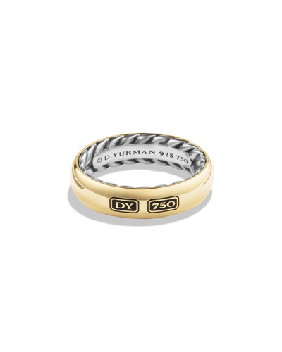 Streamlined Men's Band Ring