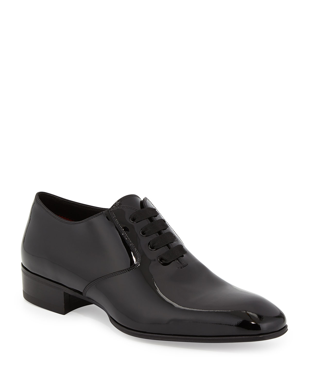 9dfe38b8652d Quick Look. TOM FORD · Gianni Patent Leather Lace-Up Shoe