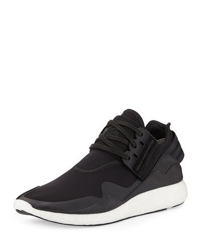 Retro Boost Sneaker, Black/White