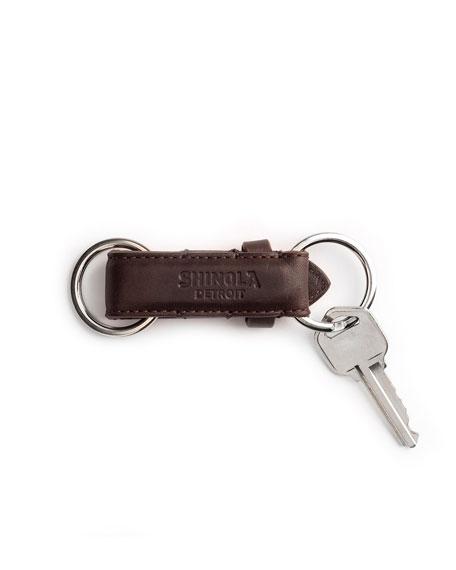 Shinola Leather Valet Key Chain