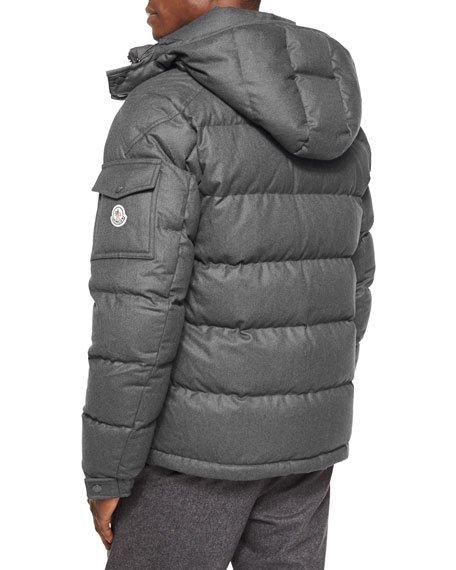 Moncler Montgenevre Quilted Down Jacket, Gray