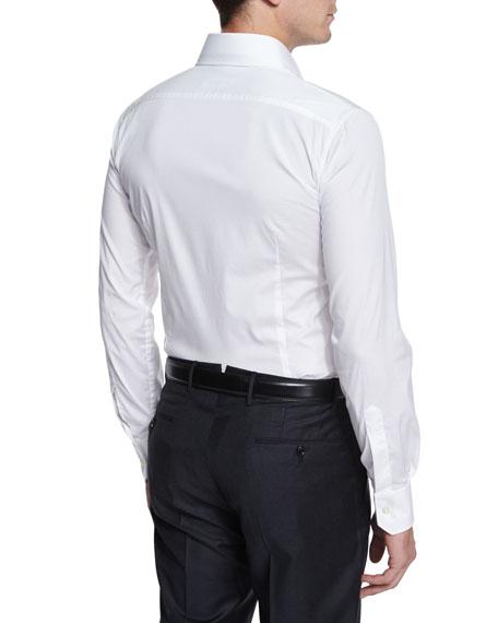 Long-Sleeve Woven Sport Shirt