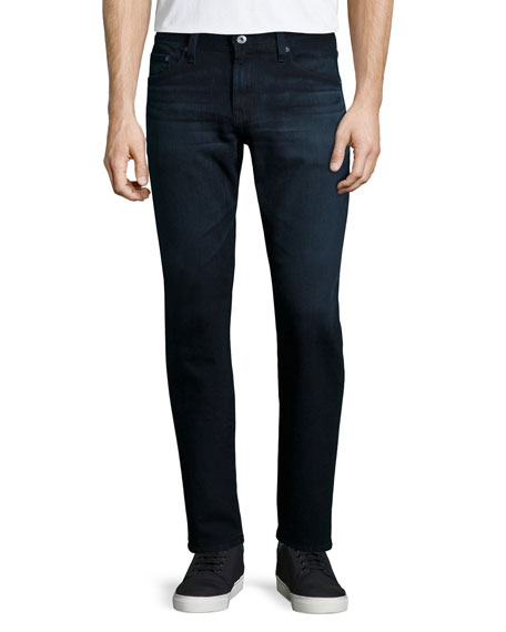 AG Adriano Goldschmied Graduate Bundled Denim Jeans, Indigo