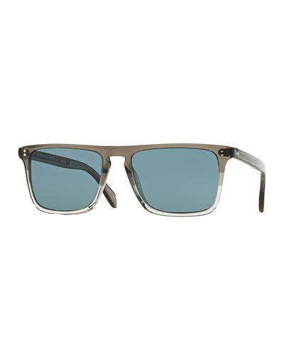 Bernardo 54 Polarized Sunglasses, Gray