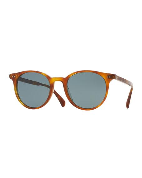 Oliver Peoples Delray Sun 48 Photochromic Sunglasses, Light