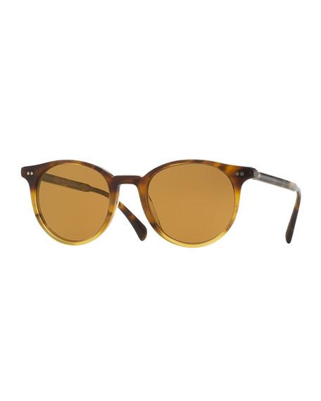 Oliver Peoples Delray Sun 48 Photochromic Sunglasses, Dark