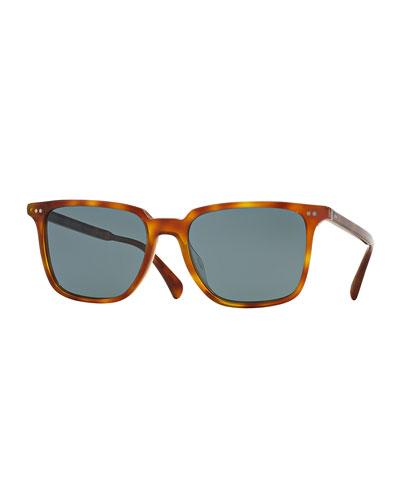 OPLL Sun 53 Photochromic Sunglasses, Light Brown