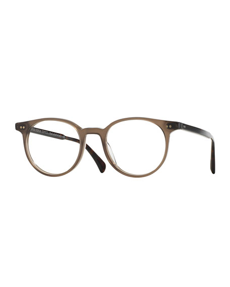 Oliver Peoples Delray 47 Optical Glasses, Brown