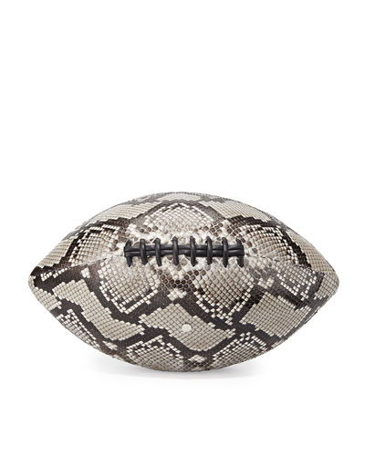 Regulation-Size Python Football, Natural Glazed