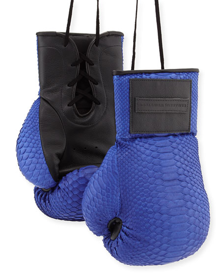 Python Boxing Gloves, Electric Blue