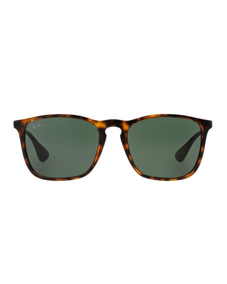Wayfarer Plastic Sunglasses, Brown
