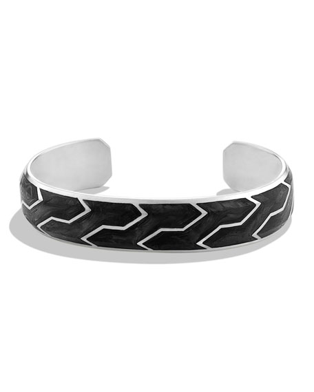 Forged Carbon Cuff Bracelet