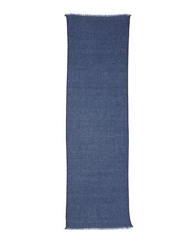 Sciarpa Eclipse Melange Scarf, Blue