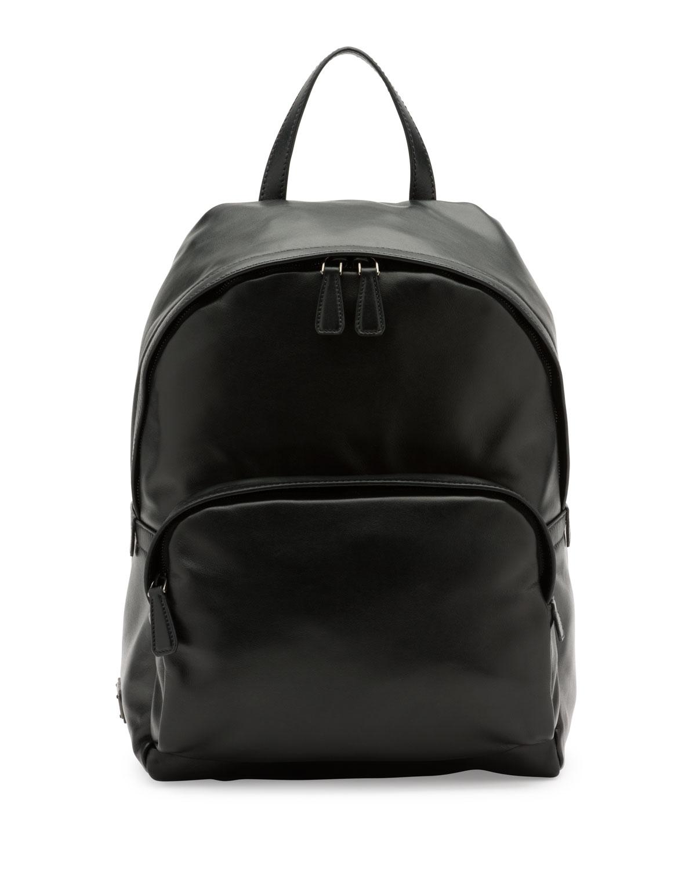 9dff7d3c6ddf Prada Soft Leather Backpack, Black (Nero) | Neiman Marcus