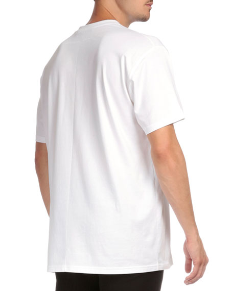 Cuban 19520 Graphic Short-Sleeve T-Shirt, White