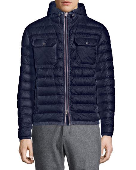 moncler douret grey jacket