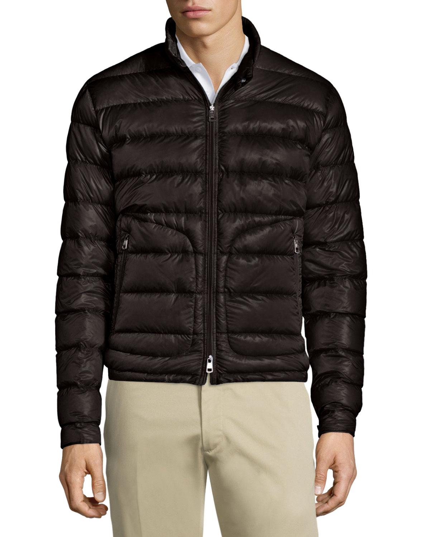 8062c3b71 Acorus Quilted Nylon Puffer Jacket, Black
