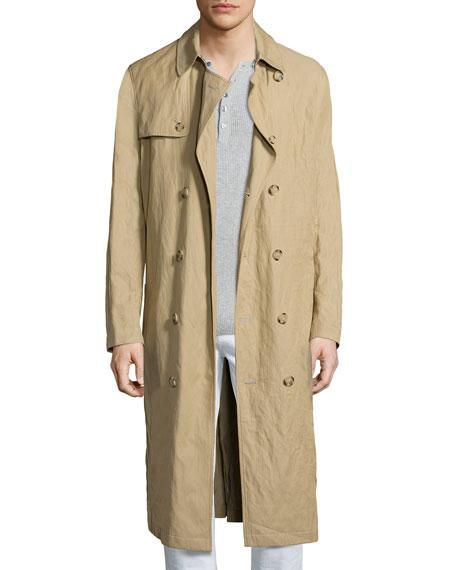 Michael Kors Inox Lightweight Trench Coat, Khaki