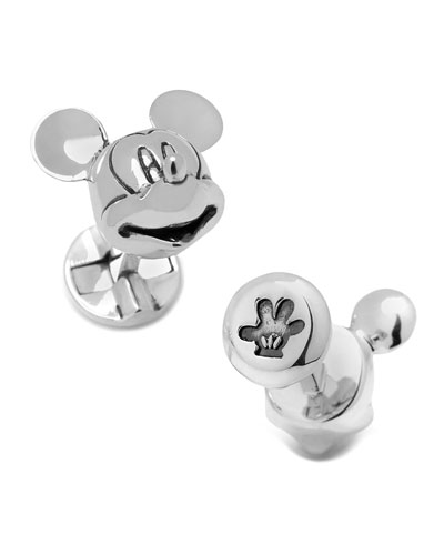 Mouse Head Cufflinks