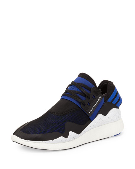 Y-3 Retro Boost Sneaker, Blue/Black