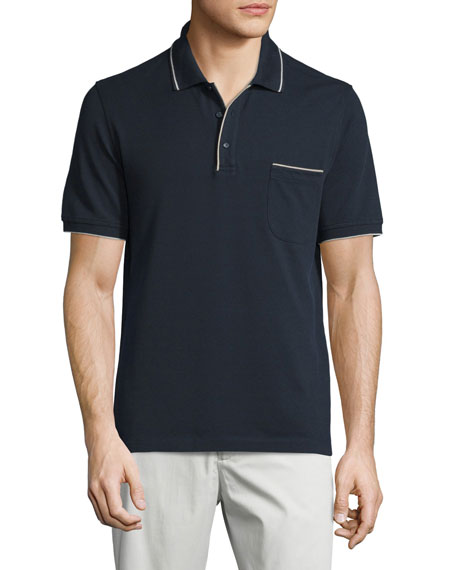 Loro PianaRegatta Short-Sleeve Pique Polo Shirt