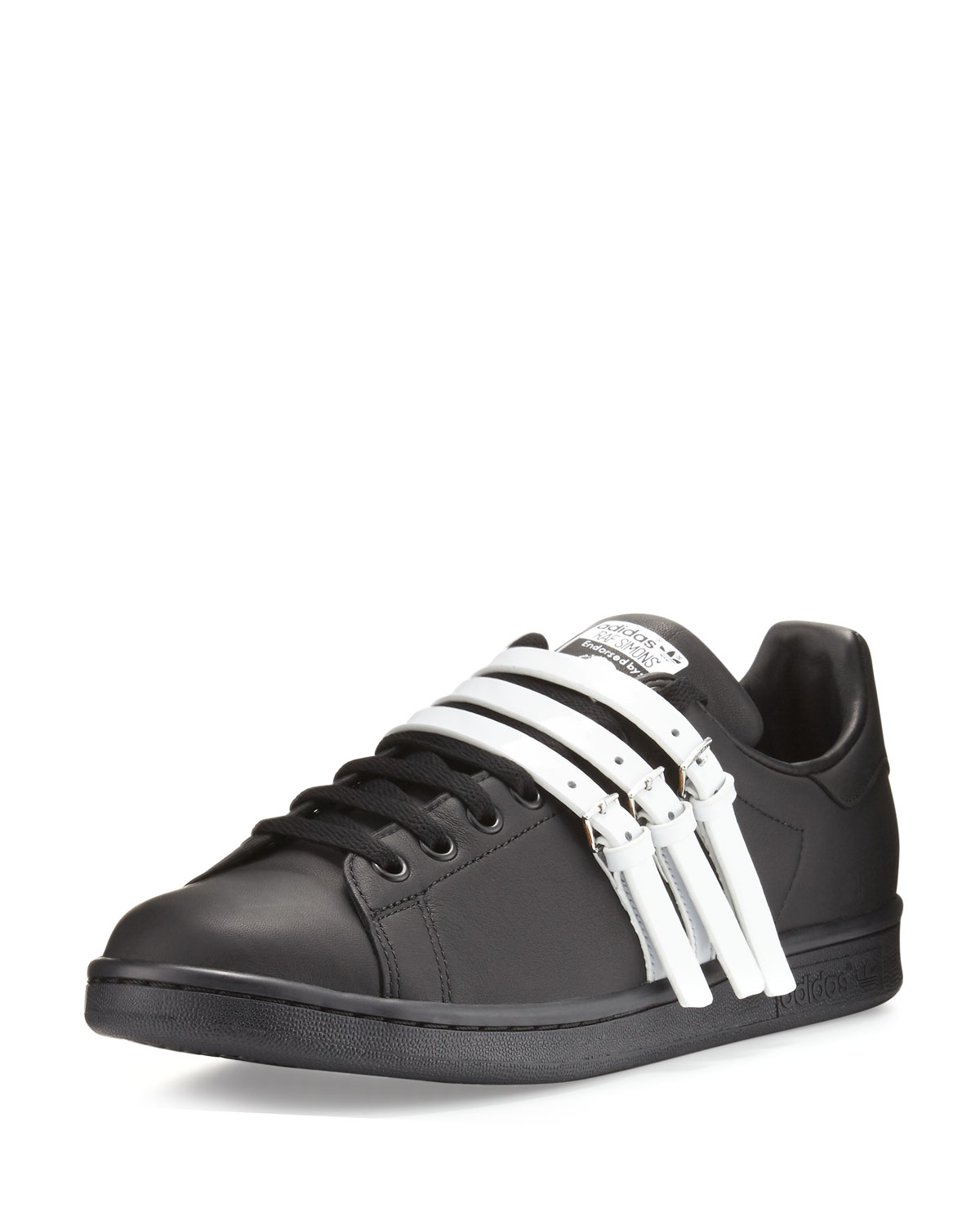 3222c266b8a adidas by Raf Simons Men s Stan Smith Strap-Front Leather Sneakers ...